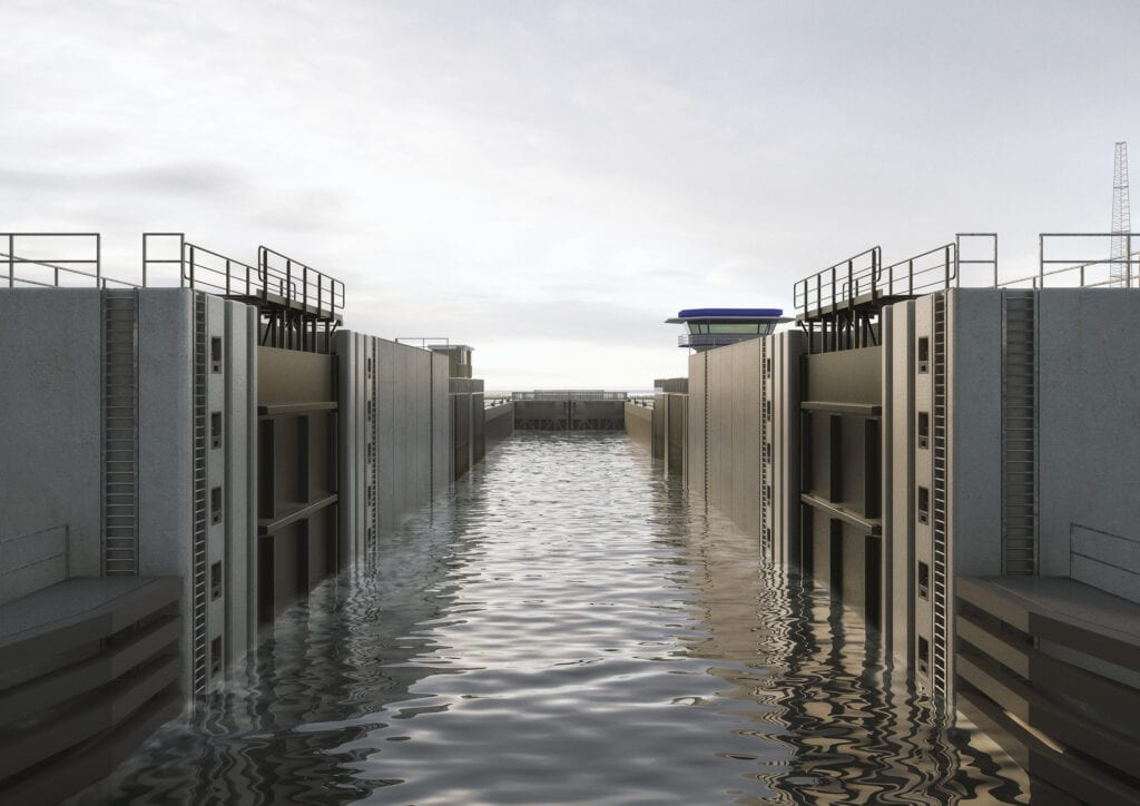 Floodgate at Den Oever