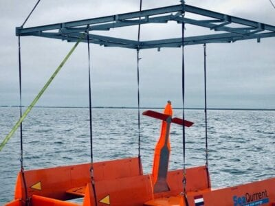 tidal-kites-in-operation-on-sea